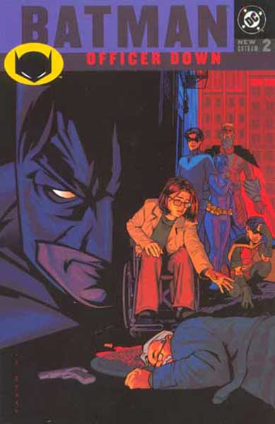 Image: Batman: Officer Down SC  - DC Comics