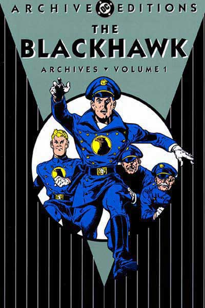 Image: Blackhawk Archives Vol. 01 HC  - DC Comics