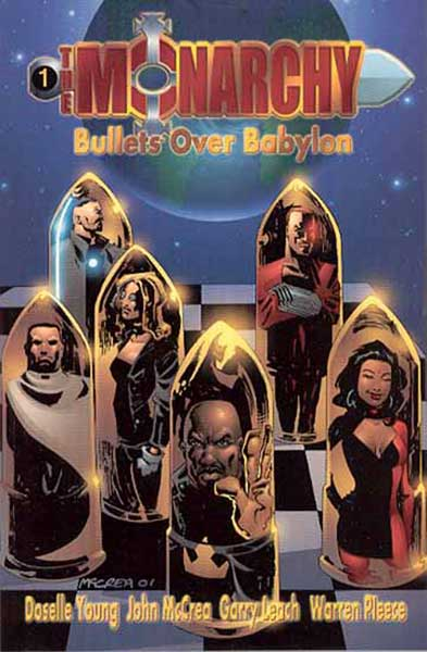 Image: Monarchy: Bullets Over Babylon SC  - DC Comics