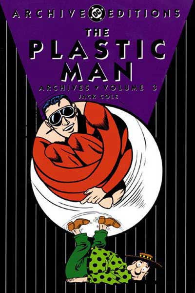 Image: Plastic Man Archives Vol. 03 HC  - DC Comics