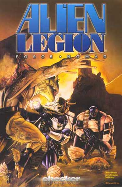 Image: Alien Legion: Force Nomad SC  - Checker Book Publishing Group