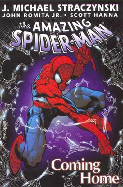 Image: Amazing Spider-Man Vol. 01: Coming Home SC  - Marvel Comics
