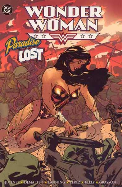 Image: Wonder Woman: Paradise Lost SC  - DC Comics