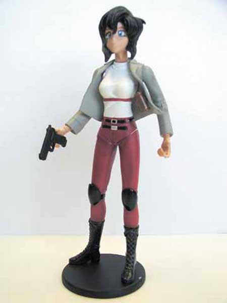 Image: Gunsmith Cats Action Figure: Rally  - Dark Horse Comics