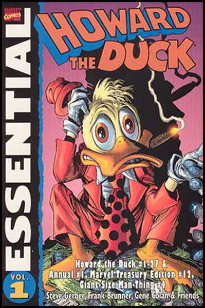 Image: Essential Howard the Duck SC  - Marvel Comics