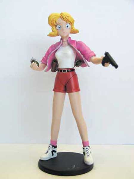 Image: Gunsmith Cats Action Figure: Minnie May  - Dark Horse Comics
