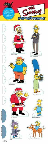 Image: Simpsons Pop Out People: Roasting On An Open Fire  -