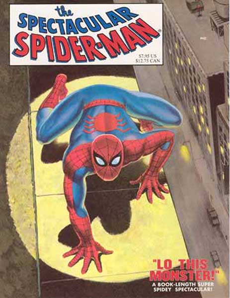 Image: Spectacular Spider-Man GN  (replica) - Marvel Comics