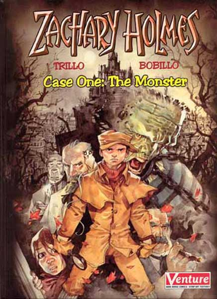 Image: Zachary Holmes Case 1: The Monster HC  - Dark Horse Comics