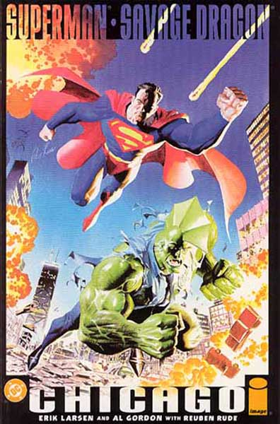 Image: Superman & Savage Dragon: Chicago  - DC Comics