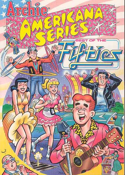 Image: Archie Americana Series: Best of the 50's SC  - Archie Comic Publications