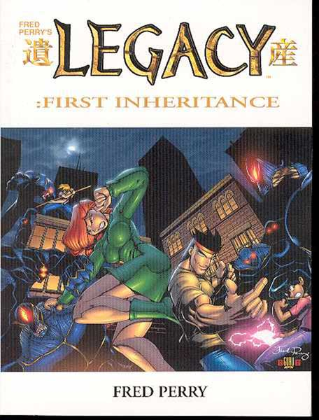 Image: Legacy: First Inheritance Collection Vol. 01 SC  - Antarctic Press