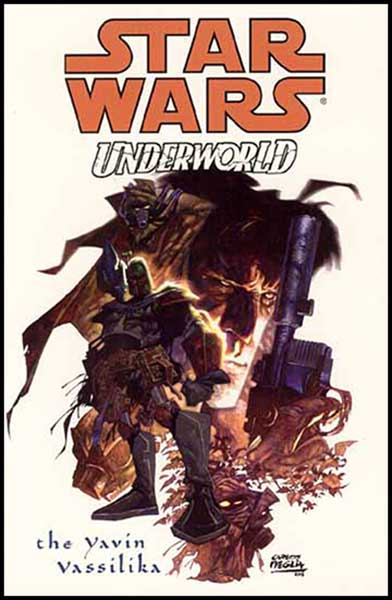 Image: Star Wars: Underworld - The Yavin Vassilika SC  - Dark Horse Comics