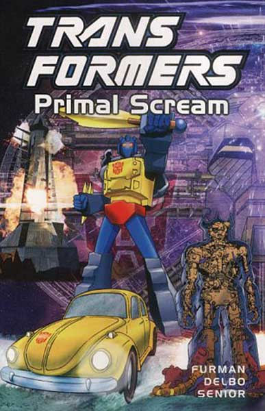 Image: Transformers: Primal Scream - Previews Exclusive Edition HC  - Titan Publishing
