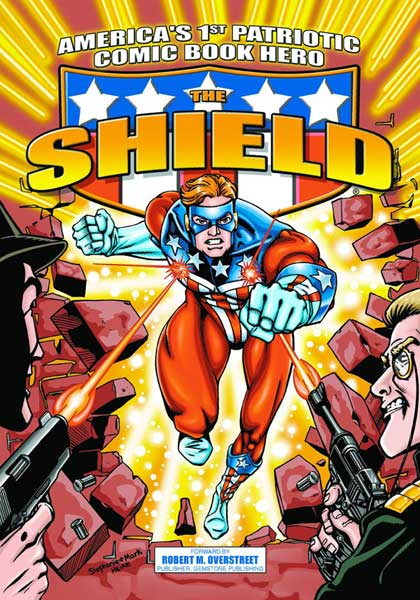 Image: Shield: America's First Patriotic Comic Book Hero SC  - Archie Comic Publications
