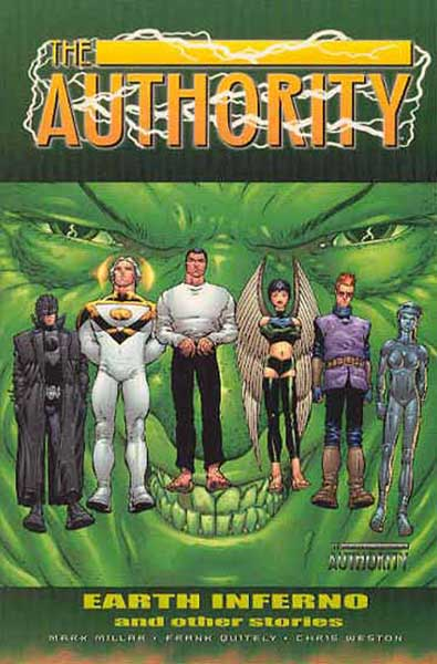 Image: Authority: Earth Inferno and Other Stories SC  - DC Comics
