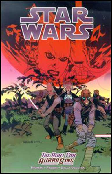 Image: Star Wars: The Hunt For Aurra Sing SC  - Dark Horse Comics