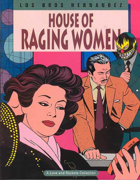 Image: Love & Rockets Vol. 05: House of Raging Women SC  - Fantagraphics Books