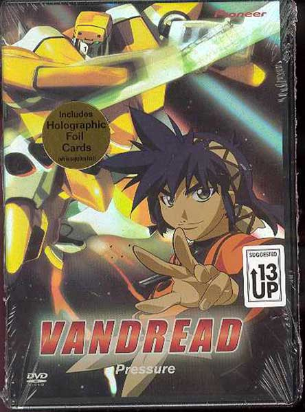 Image: Vandread Vol. 4: Pressure DVD  -