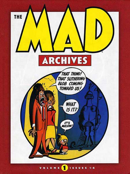 Image: Mad Archives Vol. 01 HC  - DC Comics