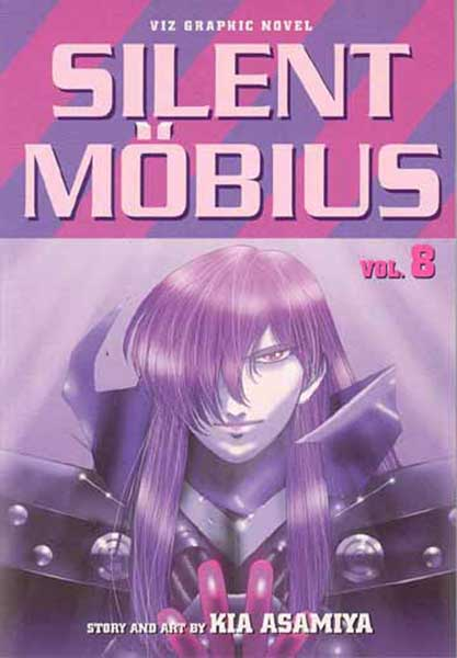 Image: Silent Mobius Vol. 8: Advent SC  - Viz Media LLC