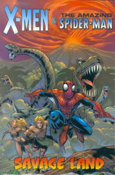 Image: X-Men / Spider-Man: Savage Land SC  - Marvel Comics
