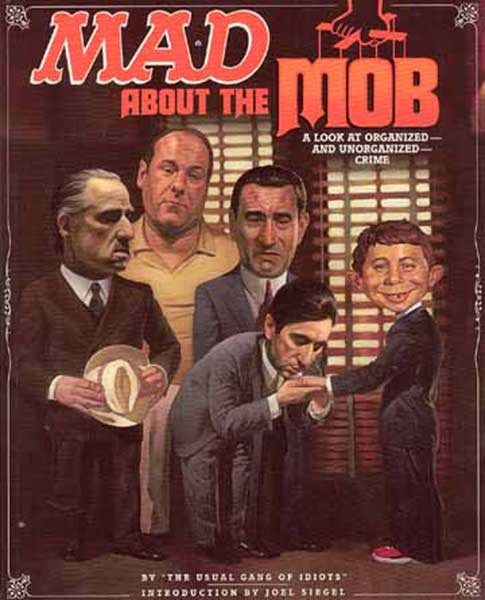 Image: Mad About the Mob SC  - DC Comics