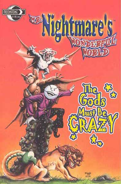 Image: Mr. Nightmare's Wonderful World Vol. 1: Gods Must Be Crazy SC  - Moonstone