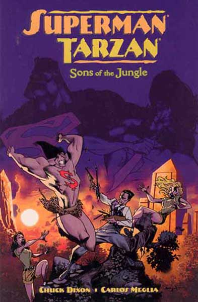 Image: Superman / Tarzan: Sons of the Jungle SC  - Dark Horse Comics