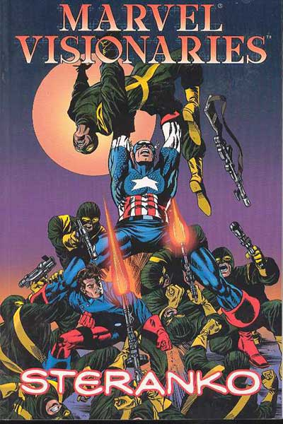 Image: Marvel Visionaries: Jim Steranko SC  - Marvel Comics