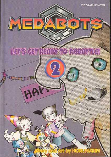 Image: Medabots Vol. 2: Let's Get Ready To Robattle SC  - Viz Media LLC