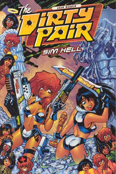Image: Dirty Pair: Sim Hell - 3rd Edition SC  - Dark Horse Comics