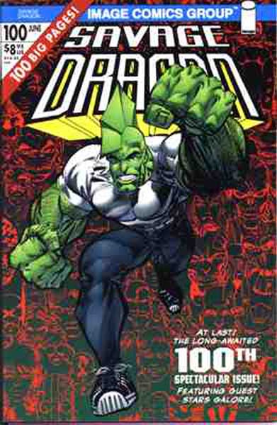 Image: Savage Dragon #100 - Image Comics