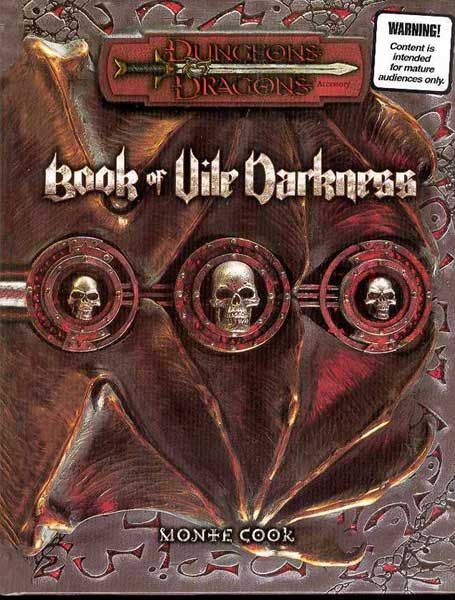 Image: Dungeons & Dragons: Book of Vile Darkness HC  -