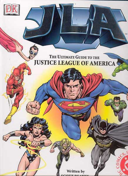 Image: JLA: The Ultimate Guide HC  -