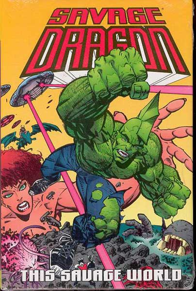 Image: Savage Dragon Vol. 15: This Savage World HC  - Image Comics