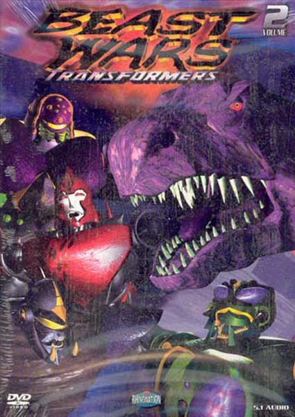 Image: Beast Wars Vol. 02 DVD  -