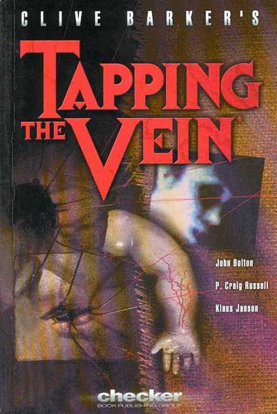 Image: Clive Barker's Tapping the Vein SC  - Checker Book Publishing Group