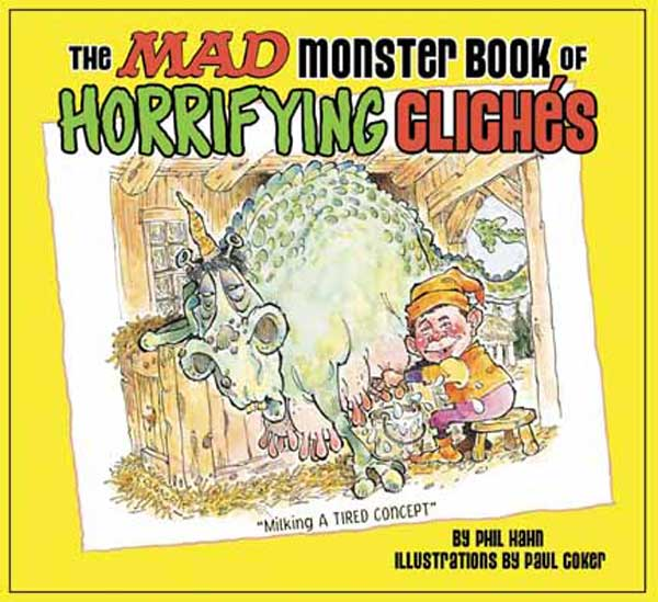 Image: Mad Monster Book of Horrifying Cliches  (pb) - DC Comics