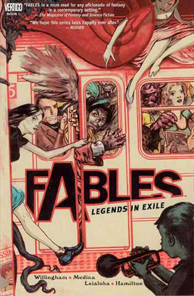 Image: Fables Vol. 01: Legends In Exile SC  - DC Comics