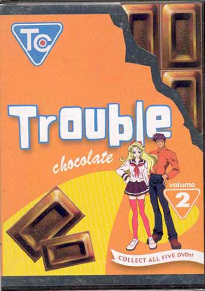 Image: Trouble Chocolate Vol. 2 DVD  -
