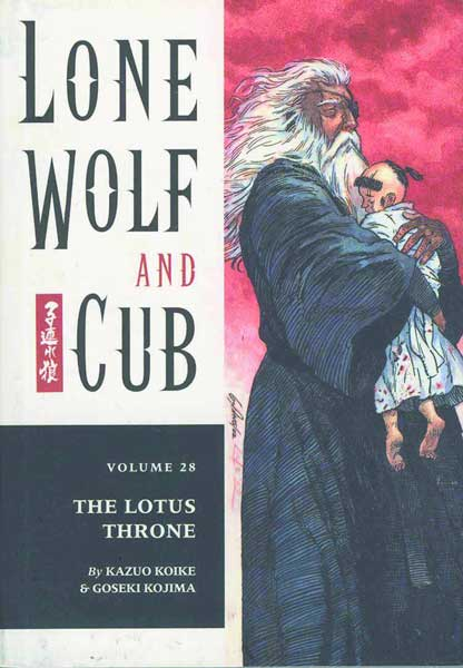 Image: Lone Wolf & Cub Vol. 28: The Lotus Throne SC  - Dark Horse Comics