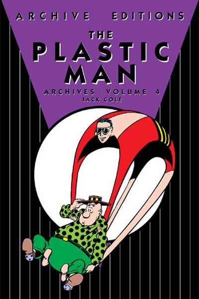 Image: Plastic Man Archives Vol. 04 HC  - DC Comics