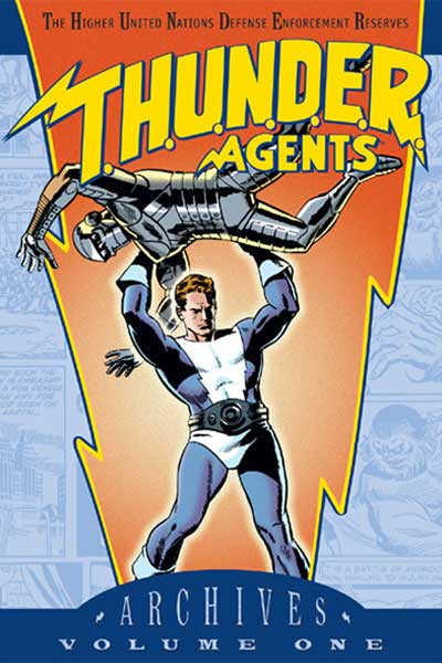 Image: T.H.U.N.D.E.R. Agents Archives Vol. 01 HC  - DC Comics