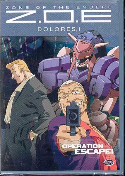 Image: Zone of the Enders Vol. 3: Operation Escape DVD  -