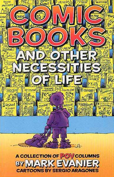 Image: Comic Books & Other Necessities of Life SC  -