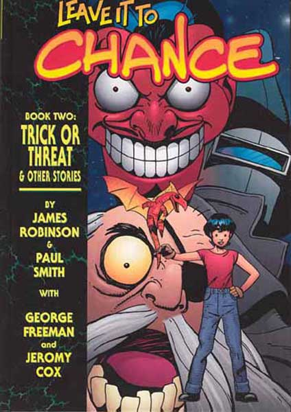 Image: Leave it to Chance Vol. 02: Trick or Threat HC  - Image Comics