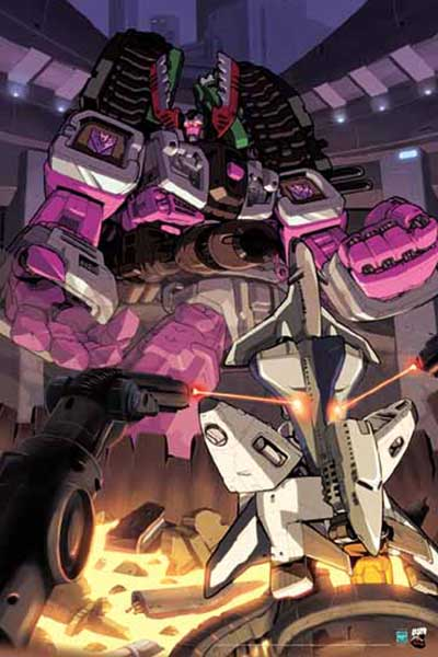 Image: Transformers Poster: Armada #6 Cover  - Dreamwave