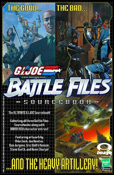 Image: G.I. Joe Battle Files: Ultimate Source Book SC  - Image Comics