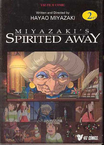 Image: Spirited Away Vol. 02 SC  - Viz Media LLC